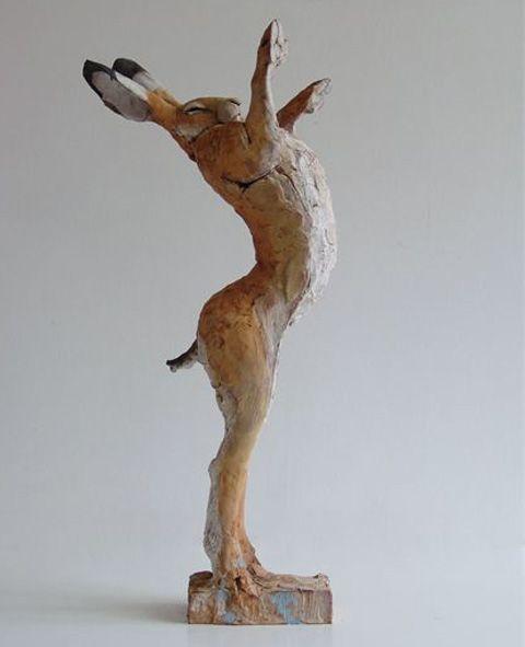 The LUSH boxing hare award - so cool! #crueltyfree #animaltesting