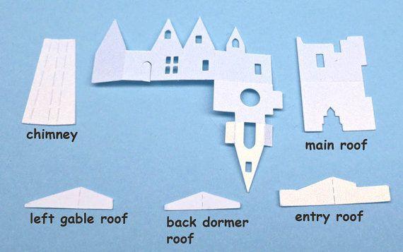 Oltre 25 fantastiche idee su case di bambole su pinterest for Piani casa casa tudor