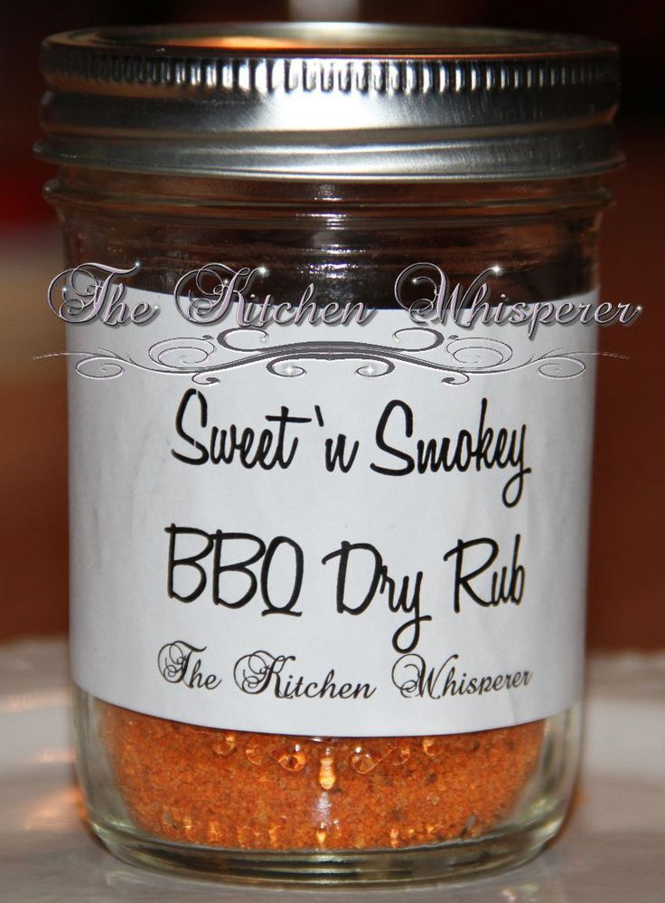 Sweet 'n Smokey BBQ Dry Rub1