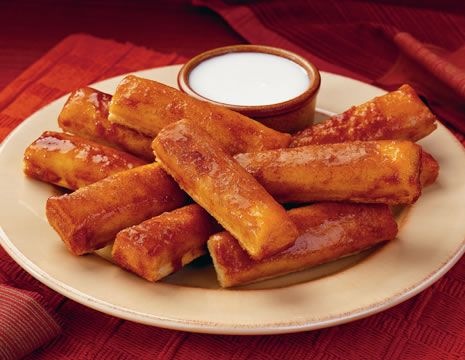 How to Make Pizza Hut Baked Cinnamon Sticks with Icing--really bad for you, but they are sooo good :)