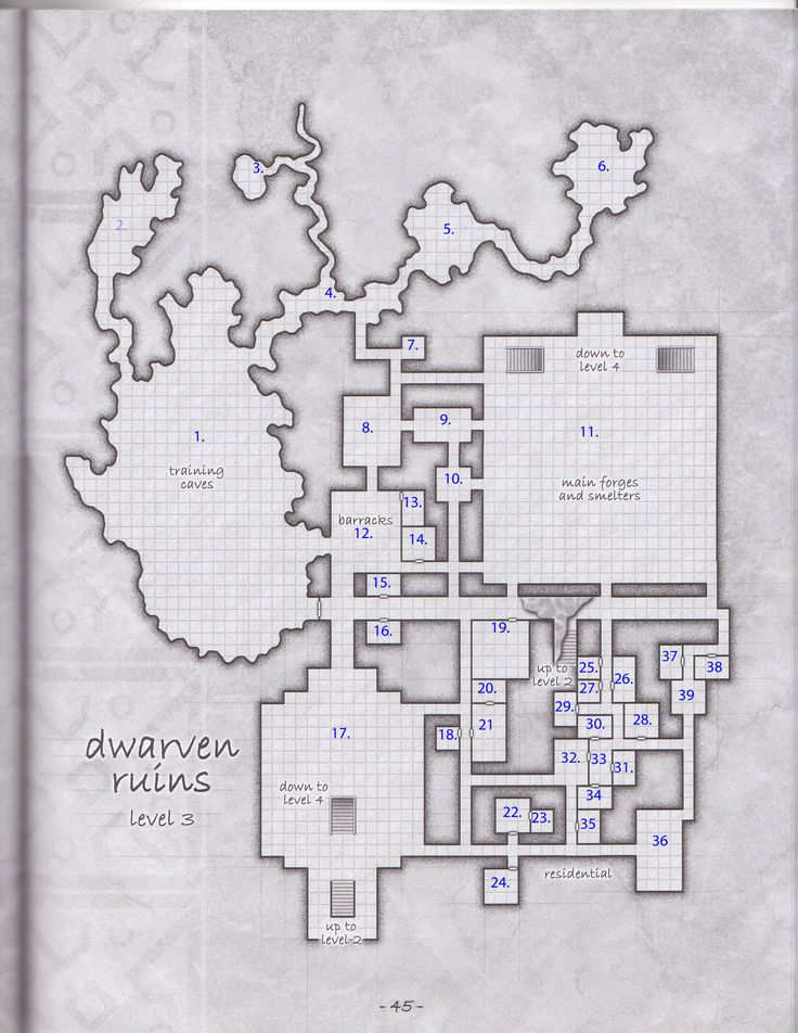 23 best images about dungeon on pinterest level 3 for Floor 2 dungeon map