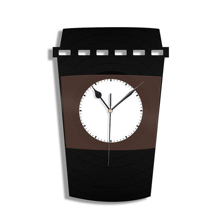 Starbucks Time Vinyl Wall Clock