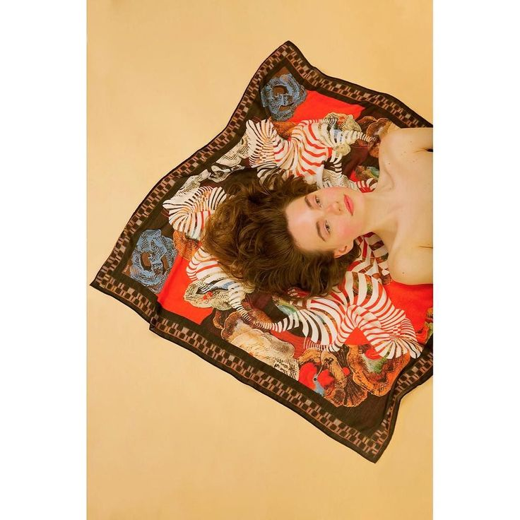 Escaping Animal I #HERSE #soononline #silkscarf #limited