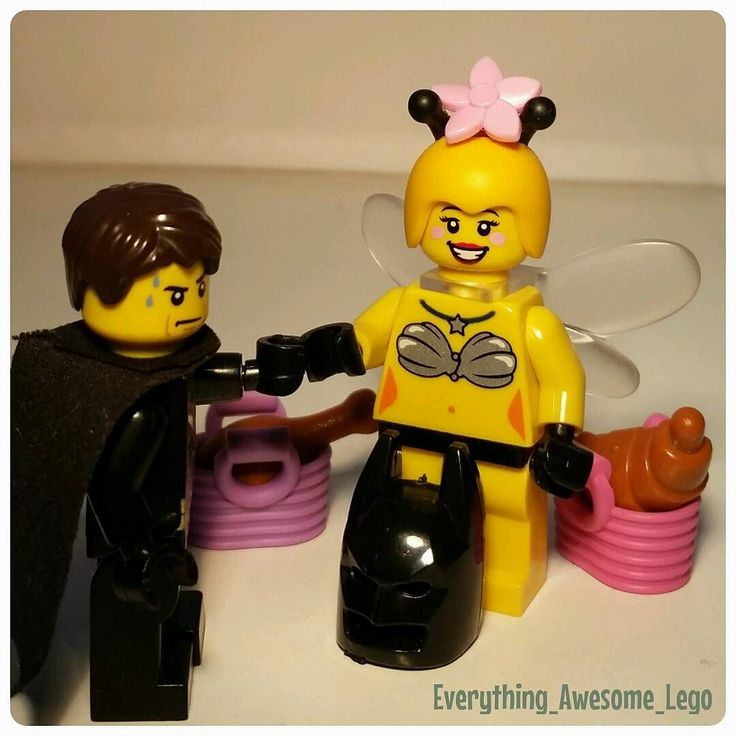 Miss Bee: BEEfore we head down to the BEEach can you tell me if this BEEkini makes me look fat? Batman: Of course not you are as BEEautiful as always!! (That question always makes Batman sweat!) @missmindylou #legojustbee #lego #lego_hub #legostagram #legophoto #legophotography #legobatman #brikheads #brickmania #brick_vision #legocontest #bricknetwork #stuckinplastic #brickphotography #brickphoto #afol #legomarvel #legobee #brickcentral #toygroup_alliance #brickstagram by…