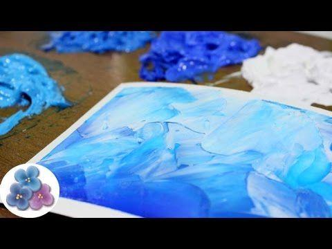 Como Hacer Pintura al Oleo con Pintura Acrilica *Acrylic Paint* Tutorial Tecnicas de Pintura Facil - YouTube