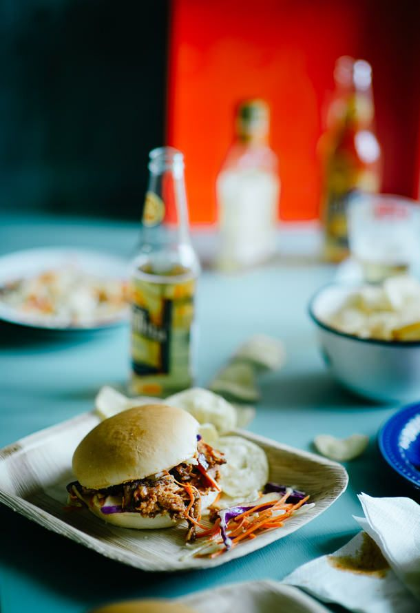Pulled Pork Sandwiches: Bourbon Barbecue, Bbq Sauces, Sandwiches Recipes, Pull Pork, Food Photography, Bourbon Sauces, Pork Sandwiches, Pulled Pork, Barbecue Sauces