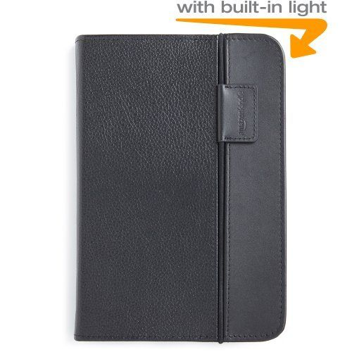 Kindle Lighted Leather Cover  Black (Fits Kindle Keyboard): http://www.amazon.com/Kindle-Lighted-Leather-Cover-Keyboard/dp/B003DZ165W/?tag=httphealtcare-20