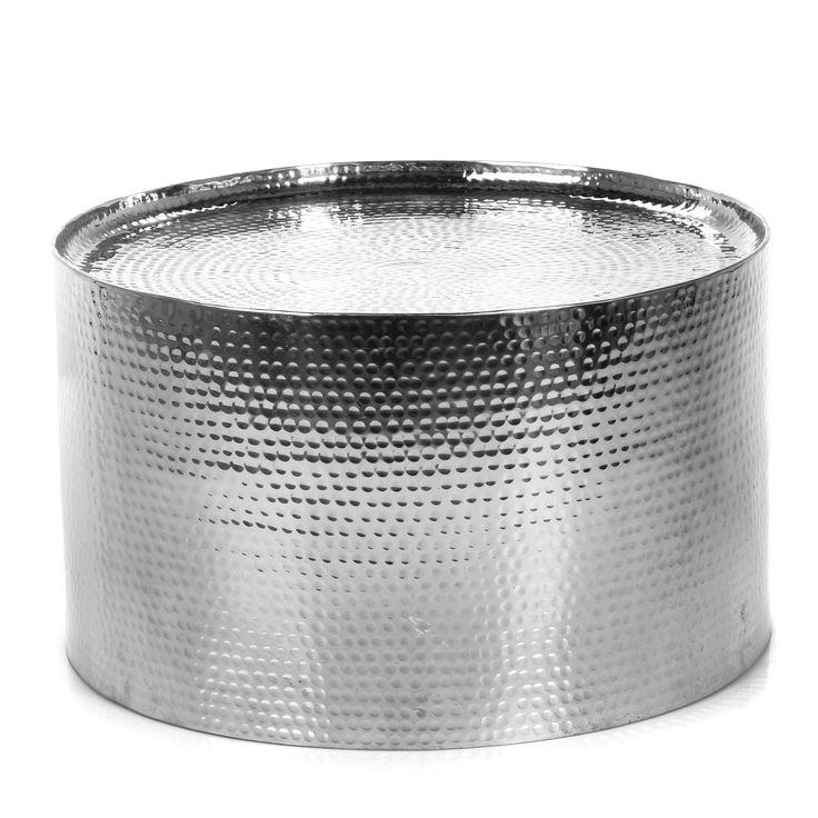 Table basse en aluminium Aluminium - Ziro - Les tables basses - Tables basses et bouts de canapé - Salon et salle à manger - Décoration d'intérieur - Alinéa