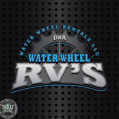 Water Wheel RVs - Design a Great Logo for A RV Dealership Selling Campers...