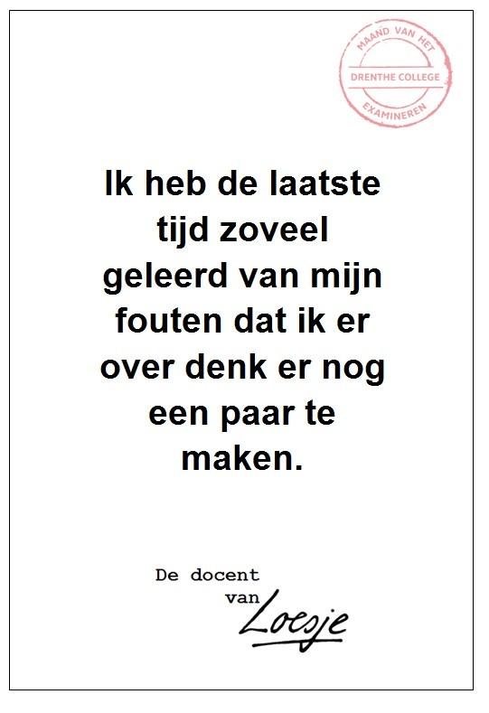Zo veel geleerd - Alfred Timmer - Drenthe College
