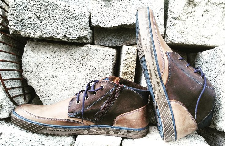 New cukka cowhide leather sneakers for winter