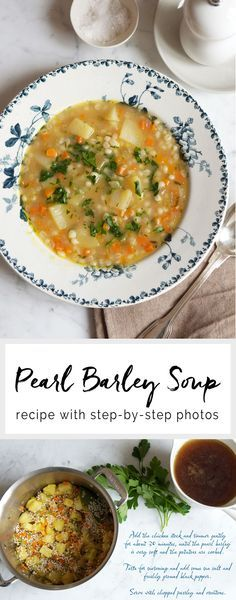 Pearl Barley Soup | eatlittlebird.com