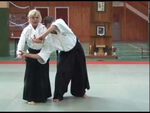 Pat Hendricks, 7th dan, Aikido Seminar Highlights     ejemplos de kokyo nage