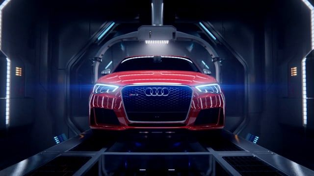 Mill+ worked in close collaboration with BBH and Creative Consultant Rupert Sanders to push the boundaries of VFX, creating a fully CG commercial for Audi's 'Birth'. Directed by Mill+'s Andrew Proctor, the film sees Audi's iconic R8 model giving birth to the new sleek RS 3 Sportback in a futuristic and atmospheric birthing chamber. The Mill team of VFX artists carefully crafted the cars and environment entirely in CG to help create a powerful, mechanical and organic spot.