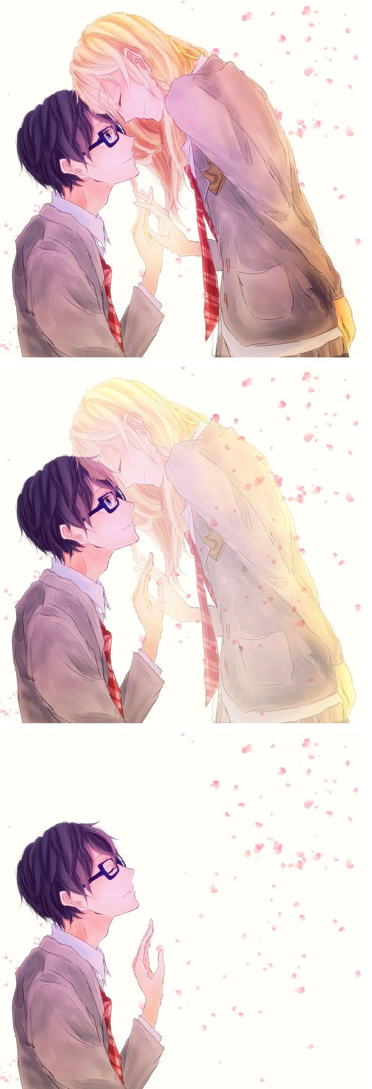 Shigatsu wa kimi no uso, Your Lie in April, Kaori, Kousei... conoces a alguien, te enamoras, pero no logran estar juntos...