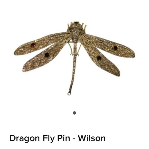 Dragon Fly Pin Vintage Butler  Wilson / pre owned /begdorf   Jewelry Butler wilson  Jewelry