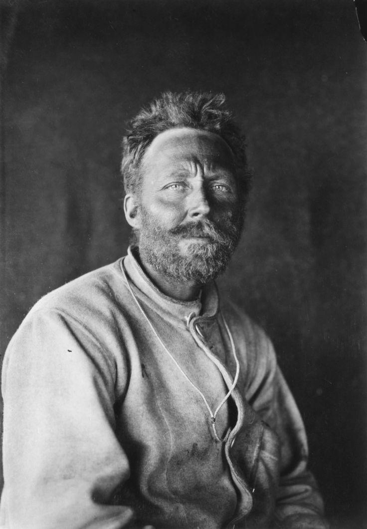 C H MEARES, SCOTT POLAR EXPEDITION, ANTARCTICA, JANUARY 1912