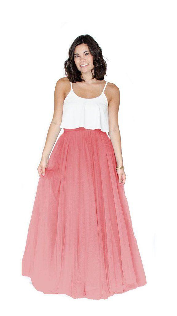 Kimmy Long Tulle Skirt - pastel dress