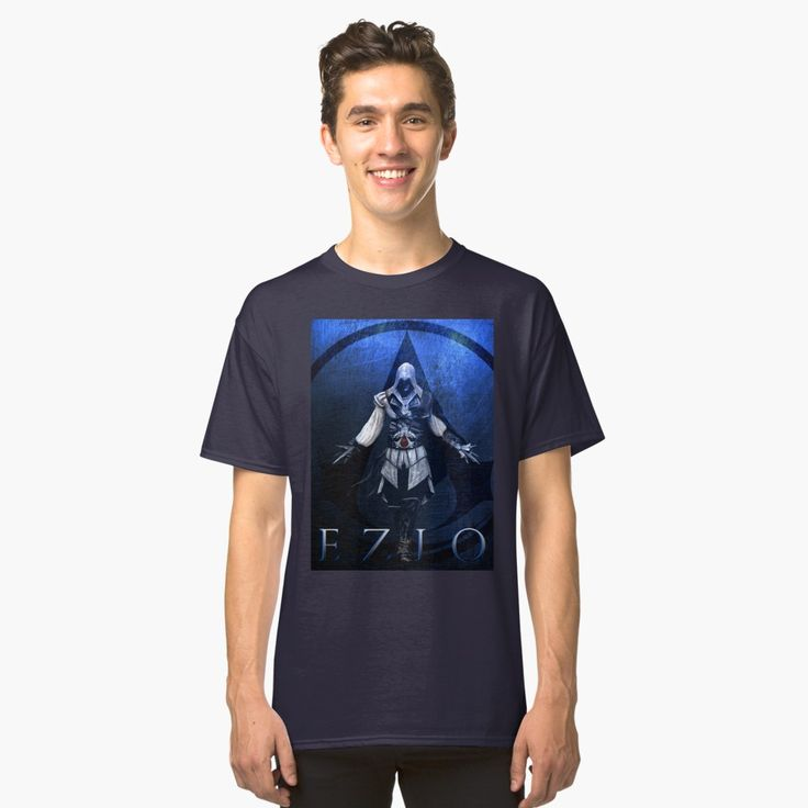 25% off all apparel. 20% off everything else. Use code BLACKFRIDAY. Ezio Auditore  Classic T-Shirt.  #blackfriday #blackfridaysales #sales #save #discount #gifts #tshirt #salestshirt #gaming #gamer #family #kids #shopping #onlineshopping #christmasgifts #xmasgifts #geekgifts #geek #gamingtshirt #ezioauditore #redbubble #assassinscreedtshirt #style #fashion  #ezioauditoretshirt #videogames #nerd #giftsforhim #giftsforher #39