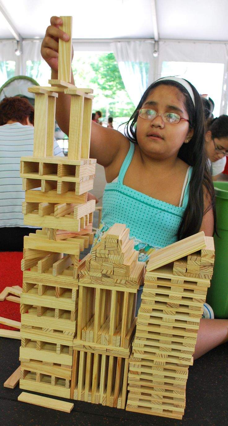 What children learn through block play From
