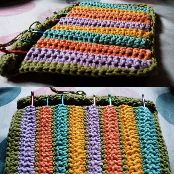 Ancient Style Hook pen case, create with cotton yarn and 5,0mm hook pen #hookpencase #crocheting #crochet