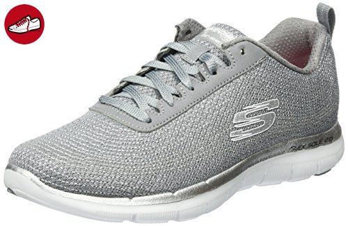 Skechers Flex Appeal 2.0-metal Madness, Damen Laufschuhe , Grau - Grey (gysl) - 39 EU ( 6 UK) - Skechers schuhe (*Partner-Link)
