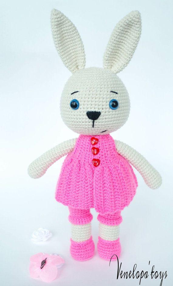 Crochet Pattern Banny Mam от VenelopaTOYS на Etsy