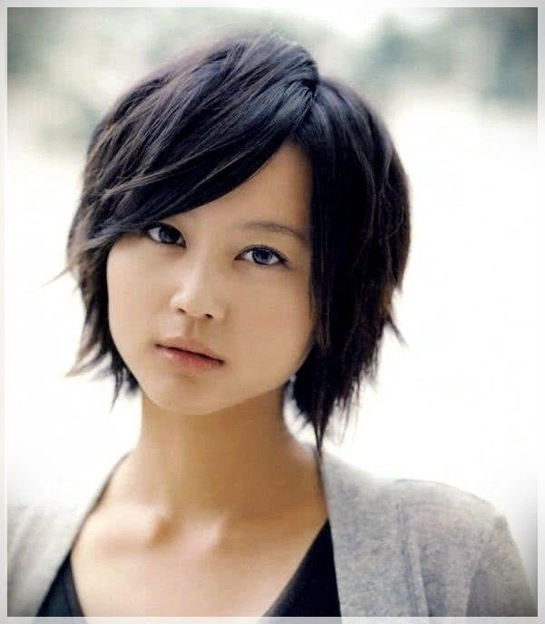 Haircuts For Round Face 2019 42 Short And Curly Haircuts Asian Short Hair Girls Short Haircuts Girl Haircuts