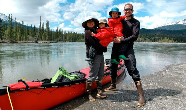 As a response to our earlier post this week, here are the top 5 tips from canoeist Dan Clark on how to camp with kids.