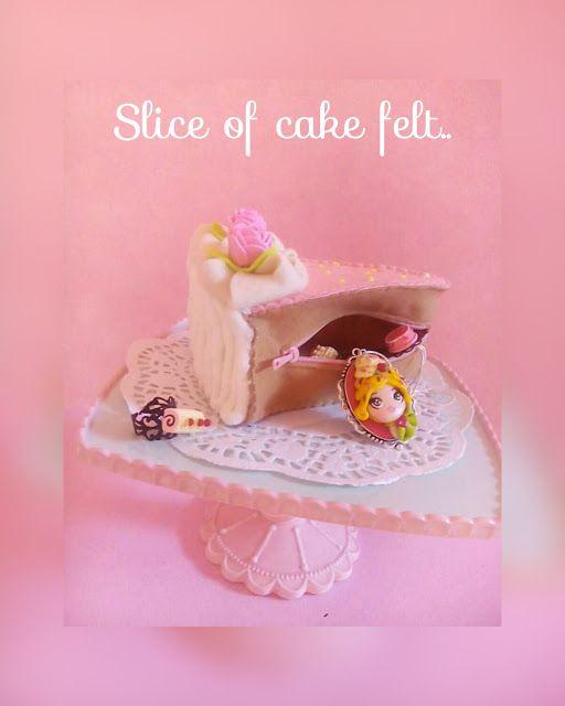 LA VIE EN ROSE: Fetta di torta porta bon bon e gioielli...