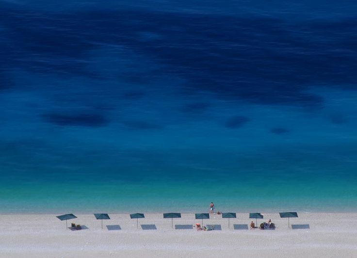 mirror beach - albanien