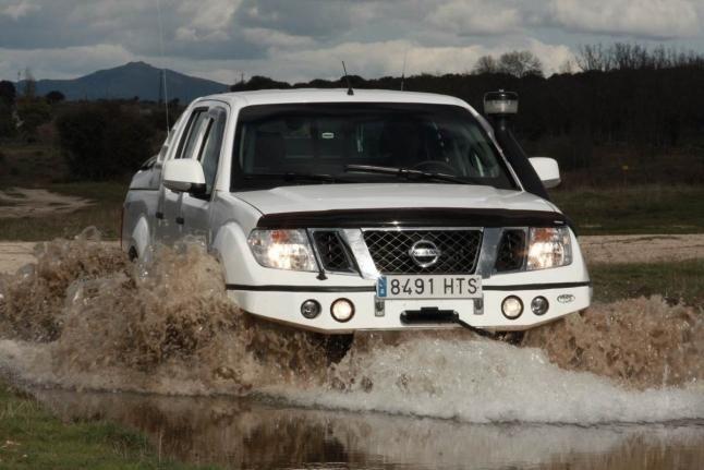 Preparación 4x4: Nissan Navara Salguero