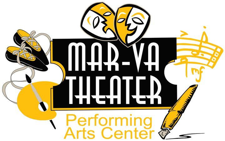 The MAR-VA Theater, located in Pocomoke, MD. Its name is representative of its location, since the theater is located in Maryland, only a short distance from the Virginia state line. The Mar-Va Theater Performing Arts Center, Inc. (MTPAC) is a non-profit organization whose sole purpose is to preserve the Mar-Va Theater in Pocomoke City, MD to it's art-deco style, and offer a cultural center for citizens of the region. https://www.facebook.com/marvatheater