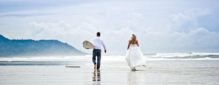 Surfer Wedding - Trash the Dress - Costa Rica Wedding - Carey Nash Photography
