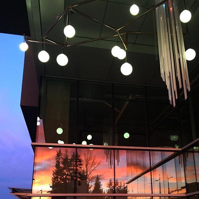 Extremely vibrant sunrise, reflected in the windows of this newly build high rise at Univercity Burnaby BC 😊 . . . #ilovebc #explorebc #vancouver #explorecanada #canada #vancity #instagood #photooftheday #beautiful #picoftheday #bestoftheday #instamood #veryvancouver #beautifulbc #travel #604now #explorevancouver #travelcanada #cityofvancouver #vancityvibe #globetrotter #traveltheworld #travelblog #familyfun #sunset_pics #sunrise_and_sunsets #morningsky #morningsun #beautifulview #citytrip