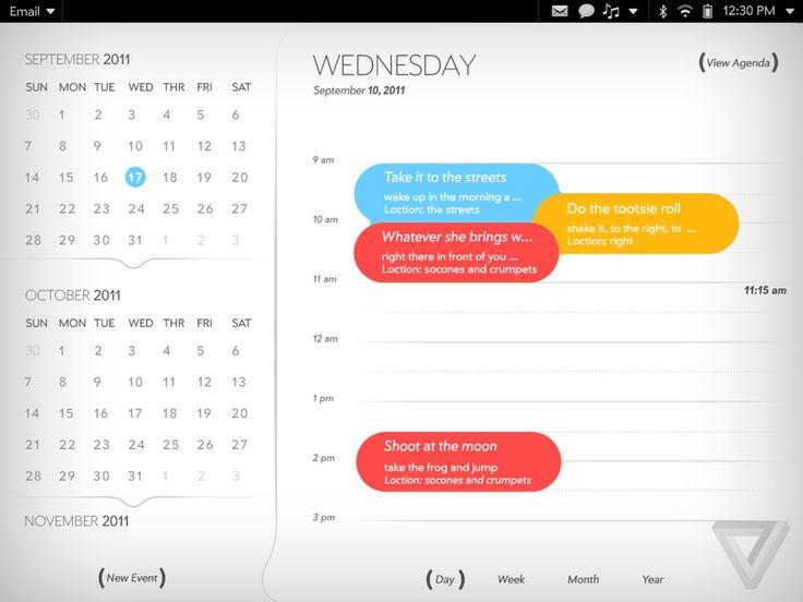 Palm Web OS UI was awesome