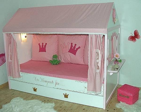 кровать-домик для принцессы