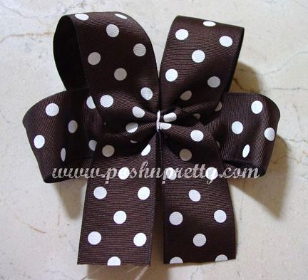 Love this website. Shows you everything you need to know about making bows off all kinds. With three girls, I have to make bows. Too expensive to buy them!