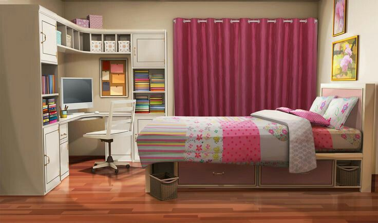 Murid Pindahan Bnha X Readers In 2021 Living Room Background Sister Bedroom Bedroom Designs Images Gacha club living room background