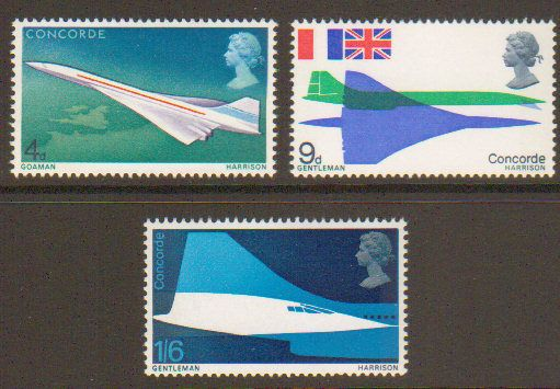 1969 First Flight of Concorde