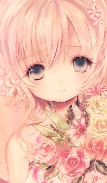 anime girl :) - cute