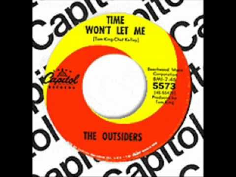 """The Outsiders - """"Time Won't Let Me"""" 1966 top 5 hit . The band is from Cleveland, Ohio .Great Song."""