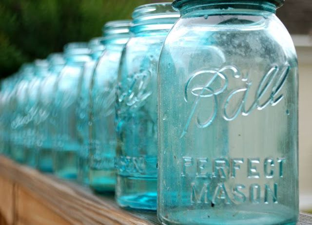 best 25+ blue mason jars ideas on pinterest | ball mason jars