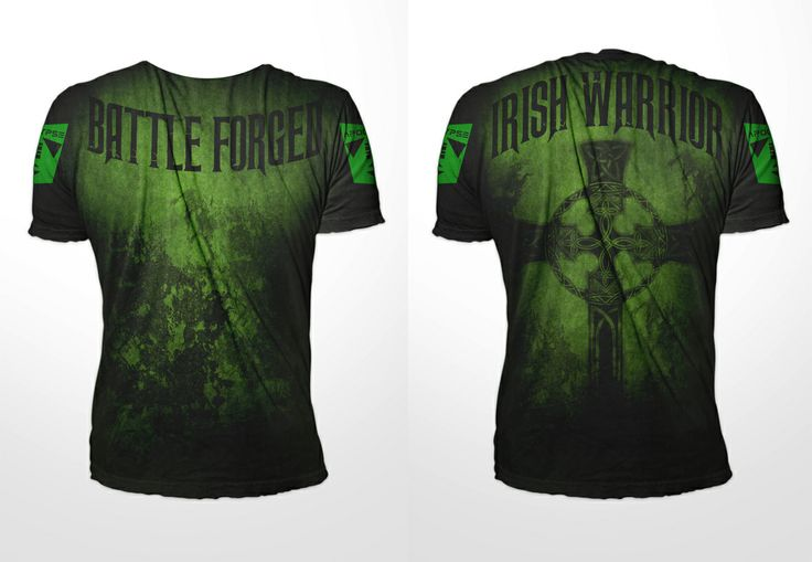 IRISH WARRIOR MMA T-SHIRT is now available now available and in stock! Due to the overwhelming demand for this design, we will be leaving this MMA T-Shirt on SALE until Saint Patrick's Day. By ordering the IRISH WARRIOR MMA Tee now you will SAVE $10.01 and ONLY PAY $29.99 instead of the full retail price of $40.00. You will be able to rep your heritage and country pride in style with this IRISH T-SHIRT!