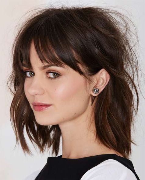 Full Fringe Pretty Hairstyles 2015 – 2016