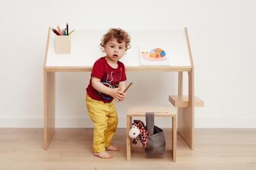 Kutikai Kids Desk - Birch - 100 x 64