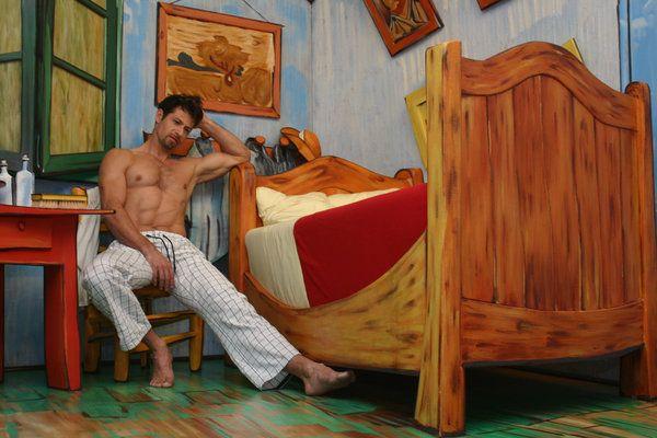 "bedroom in arles"", vincent van gogh new versiongurudutta | art"