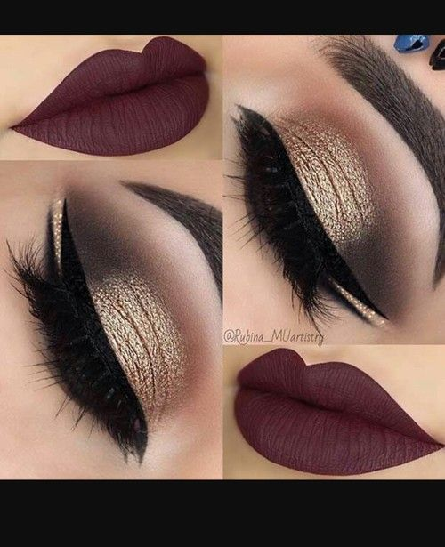 Imagem de makeup and lips