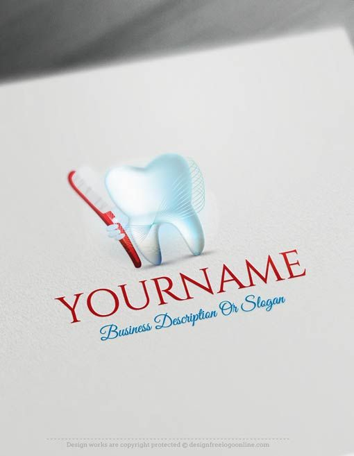 Create a logo Free – Dental Logo Templates