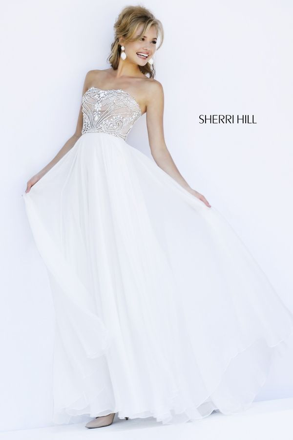 Sherri Hill 11262 · Ivory Prom DressesCheap ...